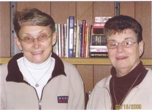SR. Sandy Bates and Sr. Lucia Castellini